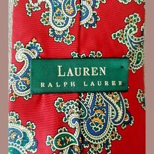 Vintage Ralph Lauren RLL  Silk  Tie Made In USA